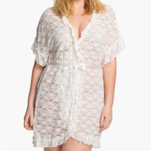 In Bloom Intimates by Jonquil Lace Wedding Robe